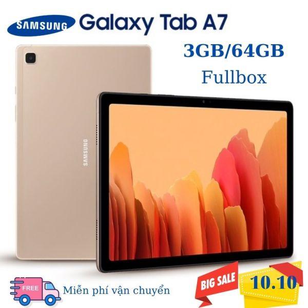 [Miễn phí vận chuyển] Máy Tính Bảng Samsung Galaxy Tab A7 (3GB/32GB) SM-T500 wifi , SM t505 4g lte +thoại ) tặng đế dựng chính hãng
