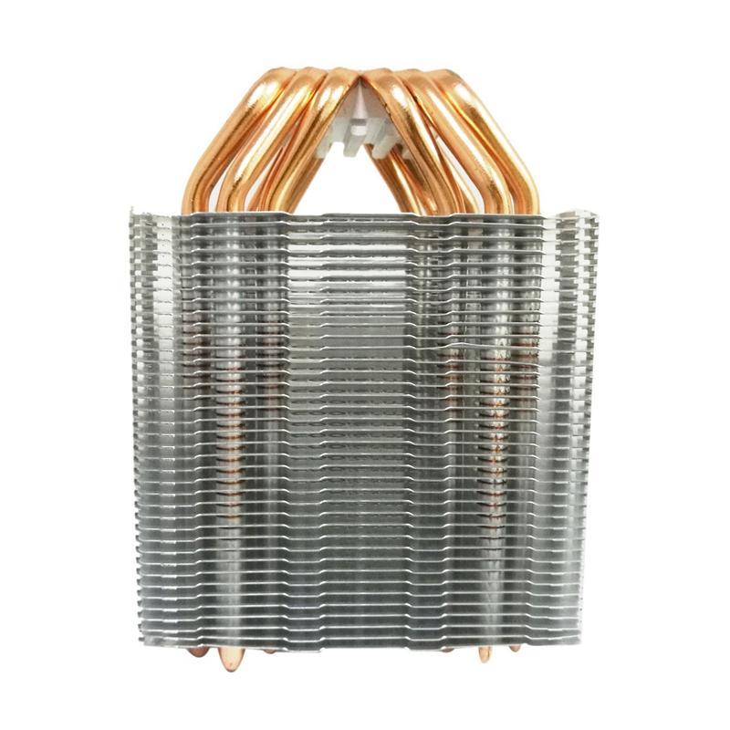 Giá 6 Heat Pipe Cpu Cooler No Fan Cpu Heatsink Fanless Cooling Radiator For Intel 775/1150/1155/1156/1366 For Amd All