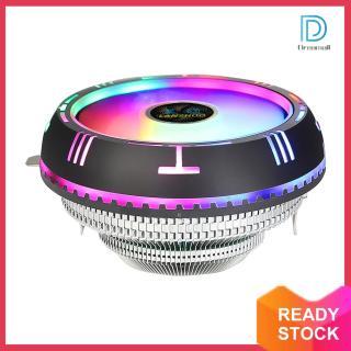 LANSHUO Bộ Làm Mát Không Khí CPU RGB Cấu Hình Thấp, Dành Cho AMD AM4 AM3 + X79 X99 LGA 2011 thumbnail