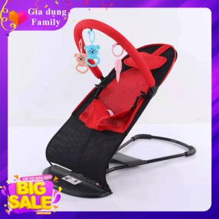 Ghế nhún, ghế rung thiết kế chắc chắn, nhịp rung đều và êm ái an toàn cho bé thumbnail
