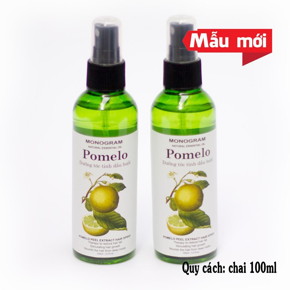 Bộ 2 chai xịt bưởi ngăn rụng tóc Pomelo