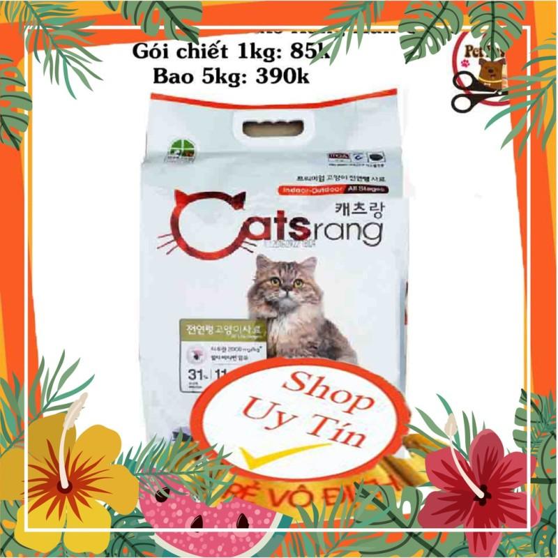 Thức Ăn Hạt Khô Cho Mèo Catsrang - Hàn Quốc - Gói Chiết 500g
