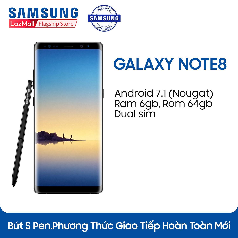Samsung Note 8 - 6GB RAM - 64GB ROM - 6.3 inch - - Android điện thoại thông minh