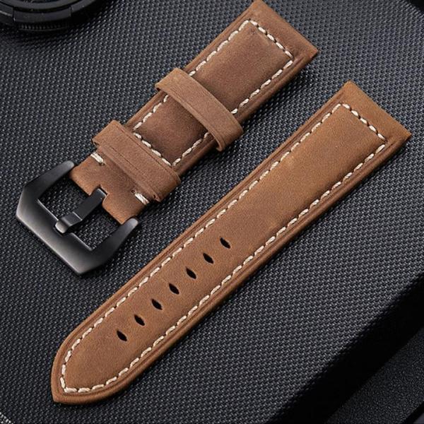 [ SAM Leather ] Dây Đồng Hồ Da Bò – Dây Da Đồng Hồ SAM003NW Size 20mm,22mm – Da Bò Thật Bảo Hành 12 Tháng Chính Hãng bán chạy