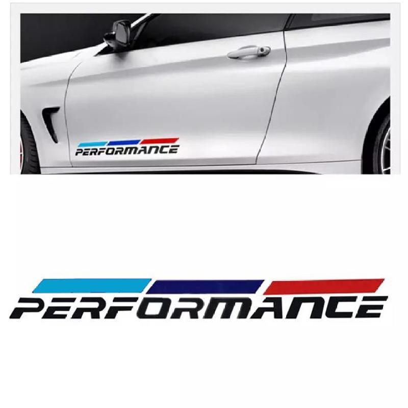 Bộ 2 tem dán cửa xe ô tô Performance 02