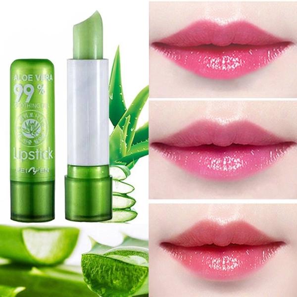 Son dưỡng môi chiết xuất Nha Đam có màu giúp dưỡng ẩm , làm hồng môi