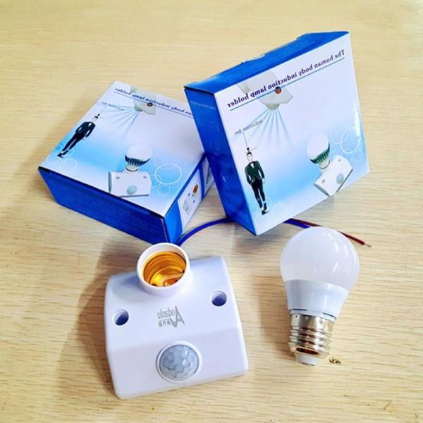 Đui đèn cảm biến chuyển động loại xịn ,Bảo Hành 12 Tháng
