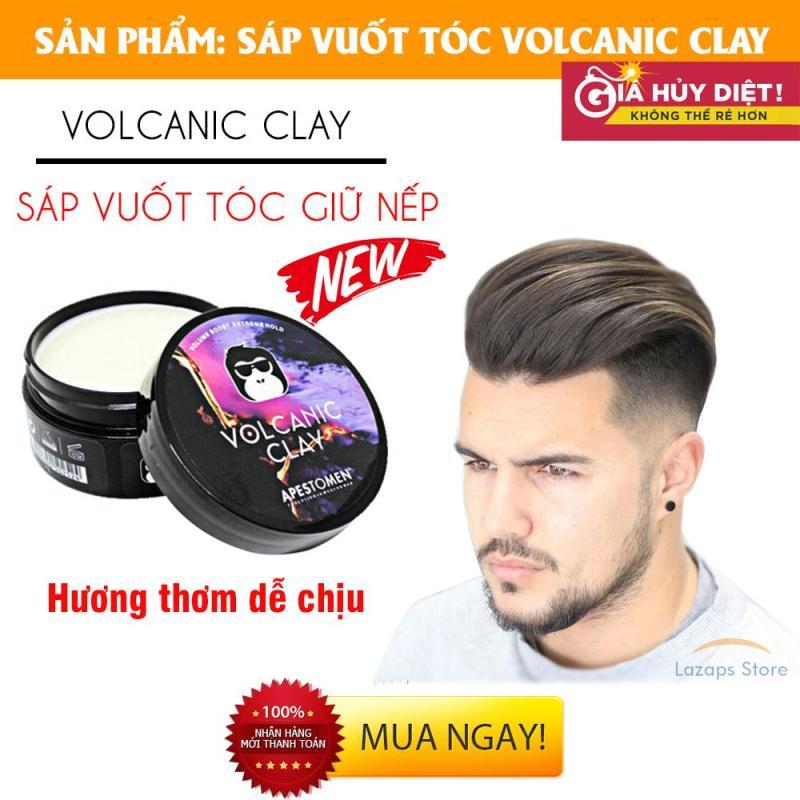 Sáp Vuốt Tóc, Sáp Vuốt Tóc Nam Volcanic Clay Apestomen 2018, Keo Vuốt Tóc Nam - Giúp tóc giữ nếp, chất sáp mềm dễ vuốt, hương thơm dễ chịu, lựa chọn cho tóc khó vào nếp - Giá giảm đến 45% trong hôm nay! giá rẻ