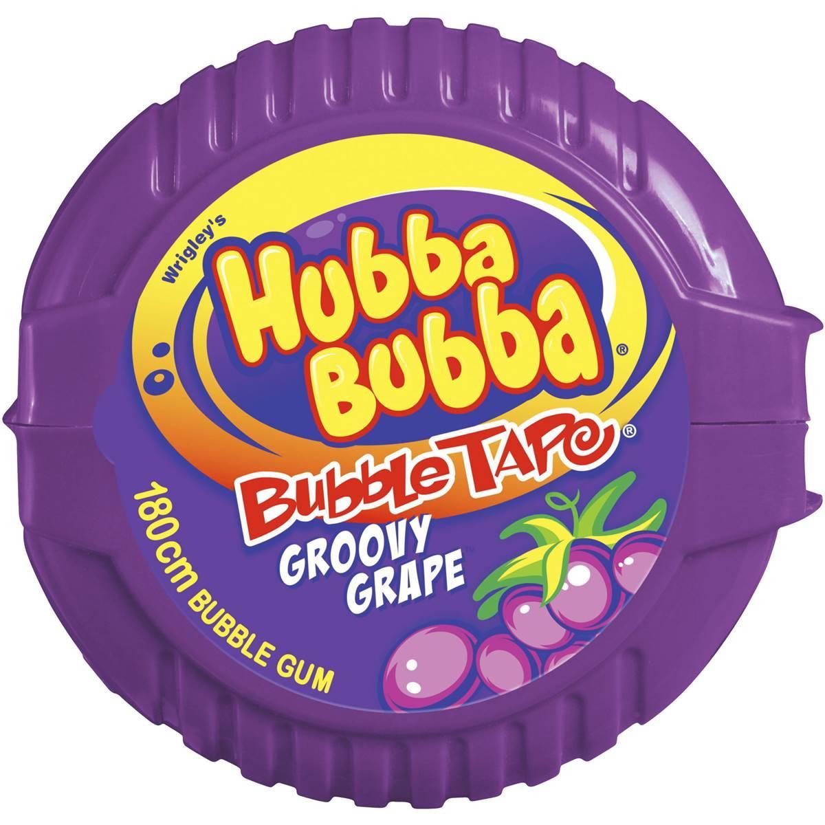 Kẹo Cuộn Hubba Bubba màu Tím nho Úc