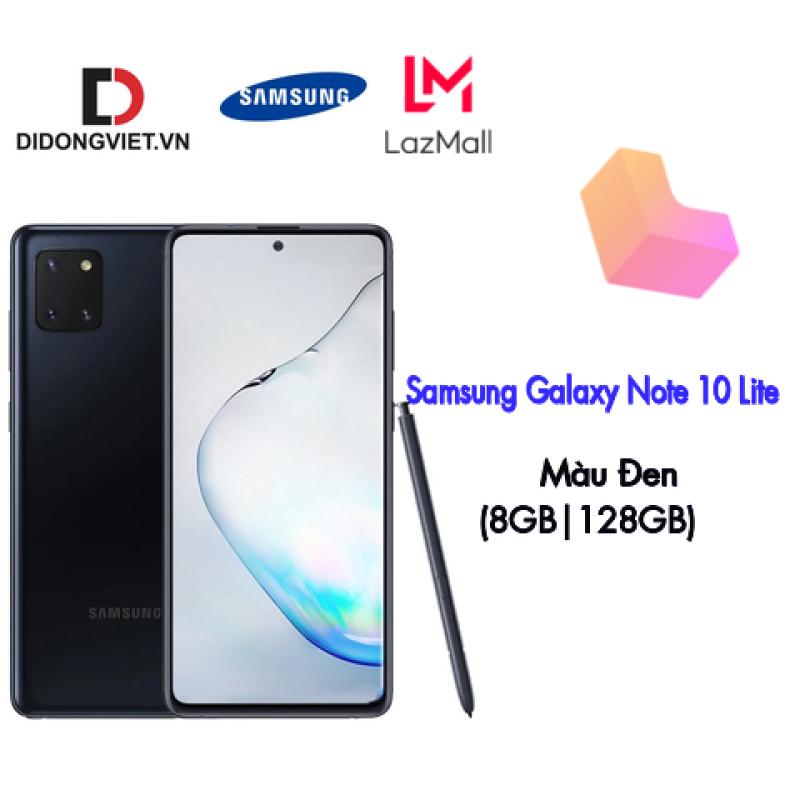 Điện Thoại Samsung Galaxy Note 10 Lite (8GB|128GB) (CTY) Chính Hãng New, Công nghệ màn hình Super AMOLED, Màn hình rộng 6.7inch, Dung lượng pin 4500 mAh.