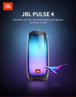 [Lỗi 1 Đổi 1]Loa Bluetooth Mini Giá Rẻ, Loa Bluetooth Bass Mạnh, Loa Bluetooth JBL Pulse 4 Chính Hãng, Công Suất Lớn, Chất Lượng Âm Thanh Cao, Tích Hợp 5 Kiểu Đèn, Chống Nước IPX7, Kết Nối Với Nhiều Thiết Bị, Pin Khủng, BH 2 Năm thumbnail