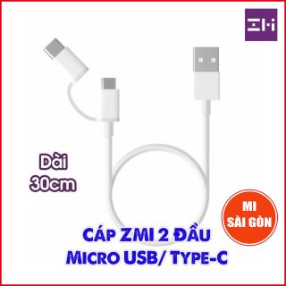 Cáp 2-in-1 ZMI AL511 Micro USB Type-C ( 30cm ) thumbnail