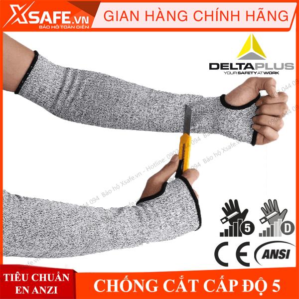 [HCM]Găng tay chống cắt Deltaplus Econocut 5M cấp độ 5 ống tay bảo hộ chuyên dụng cho cơ khí kỹ thuật làm việc với tôn kính máy móc … CHÍNH HÃNG [XSAFE] [XTOOLs]