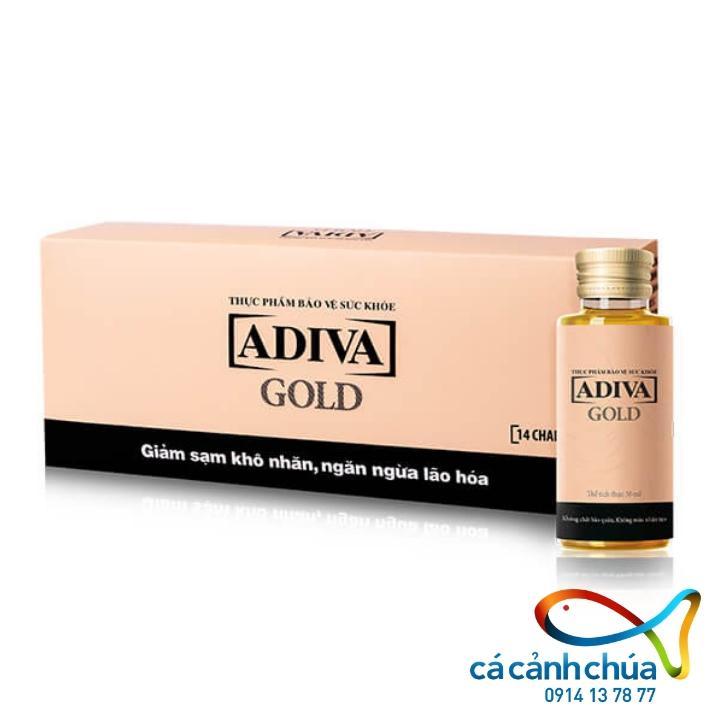 COLLAGEN ADIVA GOLD – Hộp 14 lọ - Hàng Công ty
