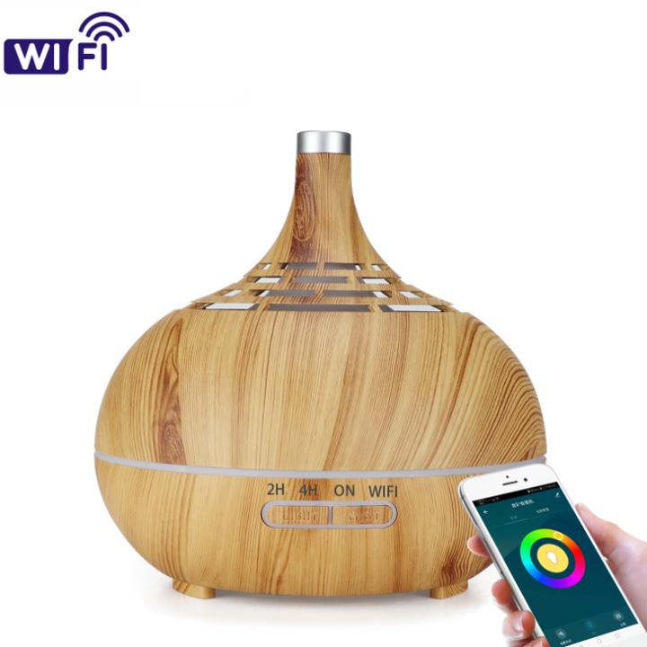 Bảng giá Máy tạo ẩm phun sương khuếch tán tinh dầu cao cấp kết nối Wifi Công suất 12W, tích hợp đèn Led 7 màu Điện máy Pico