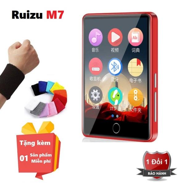 ( Quà tặng miễn phí Khăn quấn cổ tay thấm mồ hôi ) Máy nghe nhạc Bluetooth Ruizu M7 - Music player Ruizu M7 Bluetooth 4.0