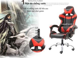 Ghế máy tính gia dụng có thể nằm, Ghế chơi game, ghế văn phòng cao cấp, Ghế chơi game đơn giản thời trang cá tính Vin SuperMart 3