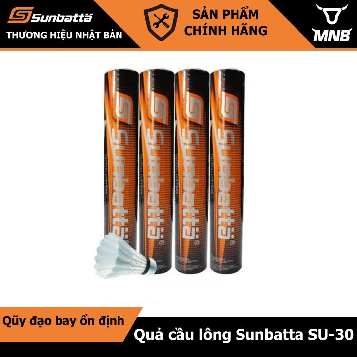 Bảng giá Quả cầu lông Sunbatta SU-30 Cam đen