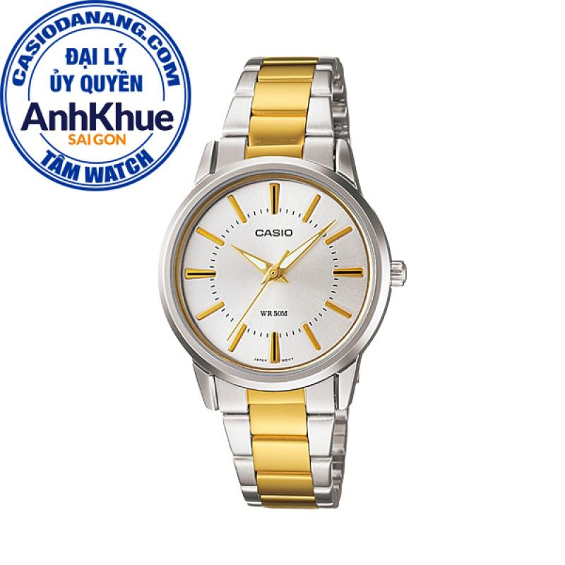 Đồng hồ nữ dây kim loại Casio Standard Anh Khuê LTP-1303SG-7AVDF