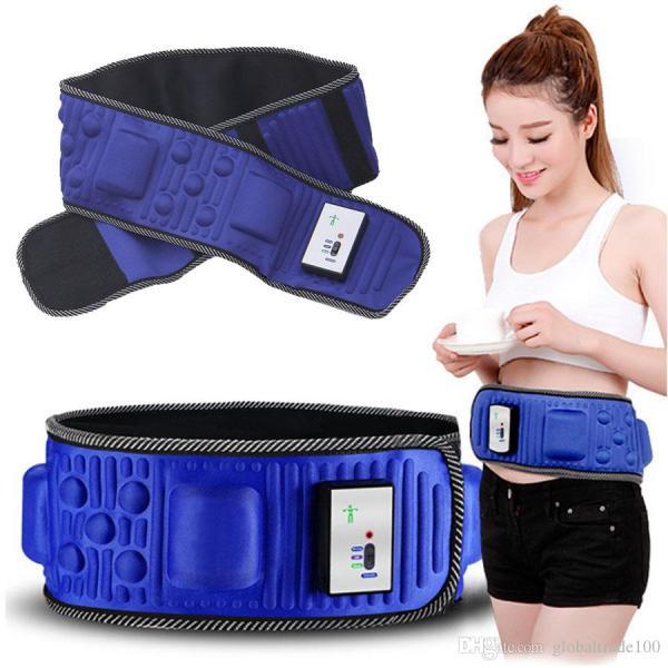 Đai massage giảm mỡ bụng HCR-X5, loại có dây không dây dùng pin sạc - phiên bản mới 2020