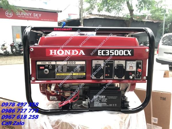 Máy Phát Điện Honda EC3500CX Đề Siêu Tiết Kiệm Xăng