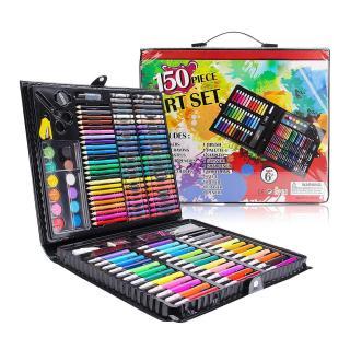 Vẽ Bút Chì , Vẽ Bút Chì Màu , Vẽ Tranh Bút Chì, bộ hộp bút chì màu 150 chi tiết cho bé yêu sáng tạo, bo mau ve da nang, bo but mau ve da nang cho be. thumbnail