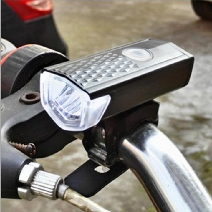GIÁ RẺ VÔ ĐỊCH -đèn pha xe đạp siêu sáng sạc usb df4-15 TẶNG kèm dây sạc