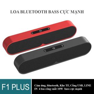 Loa Thanh, Loa Bluetooth Soundbar Siêu Trầm - Mua ngay Loa Bluetooth Soundbar Mini F1 Công nghệ Bluetooth 5.0 Âm Thanh Trung Thực, Hỗ Trợ Thẻ Nhớ, USB, Jack 3.5 thumbnail