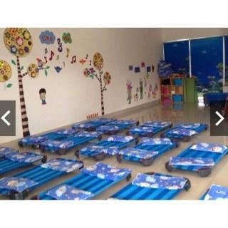 [Trợ giá] Giường lưới 1m2 cho bé - Giường mầm non thumbnail