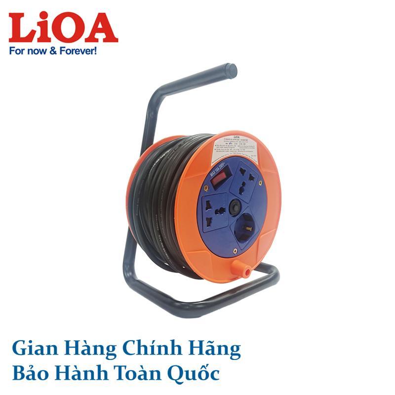 Ổ cắm kéo dài quay tay Rulo phổ thông QN20-2-10A LiOA
