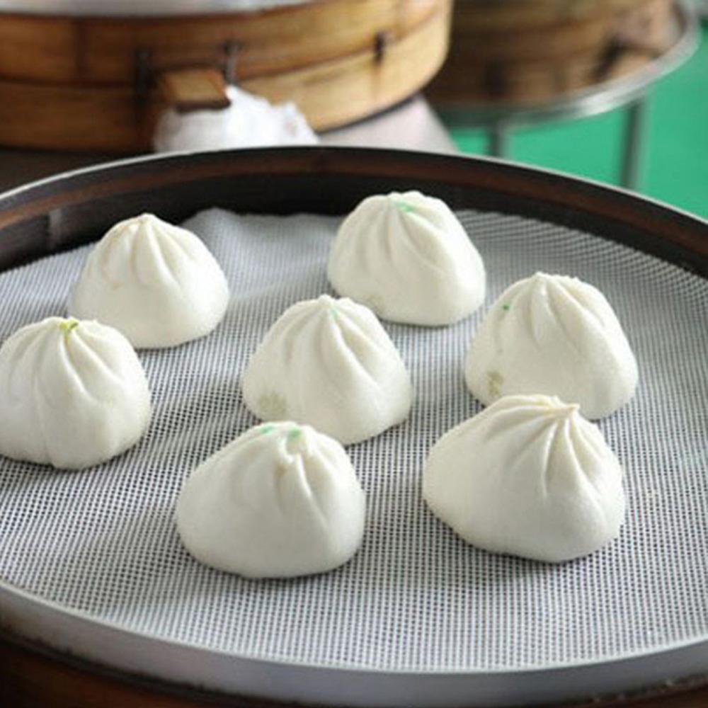 TENGJI Sinh Thái Thân Thiện Với Đồ Nấu Nướng, Đệm Hấp Chống Dính Cho Nhà Hàng Silicone Mat , Dim Sum Giấy Nấu Ăn Công Cụ