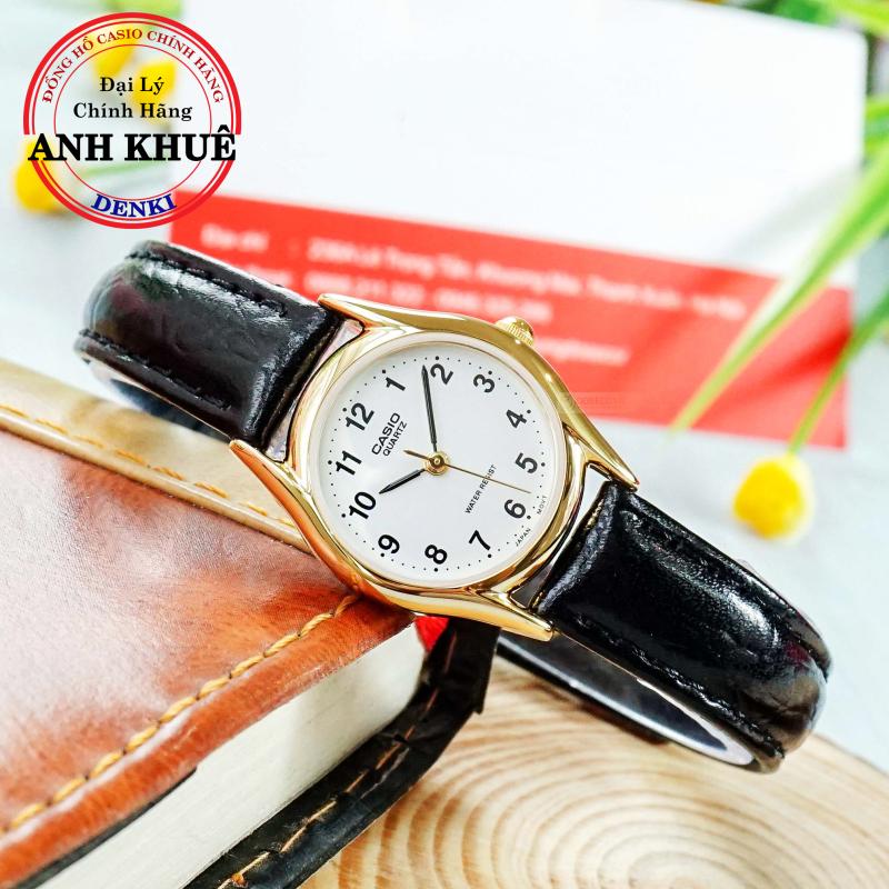 [SIÊU XINH] Đồng hồ nữ dây da Casio Anh Khuê LTP-1094Q-7B1RDF