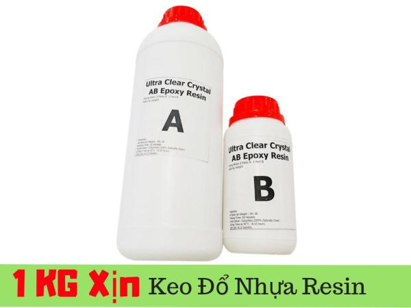 Mua [Loại Tốt] Keo đổ Nhựa Epoxy Resin Loại Xịn Siêu Trong Ultra Clear DTAB2