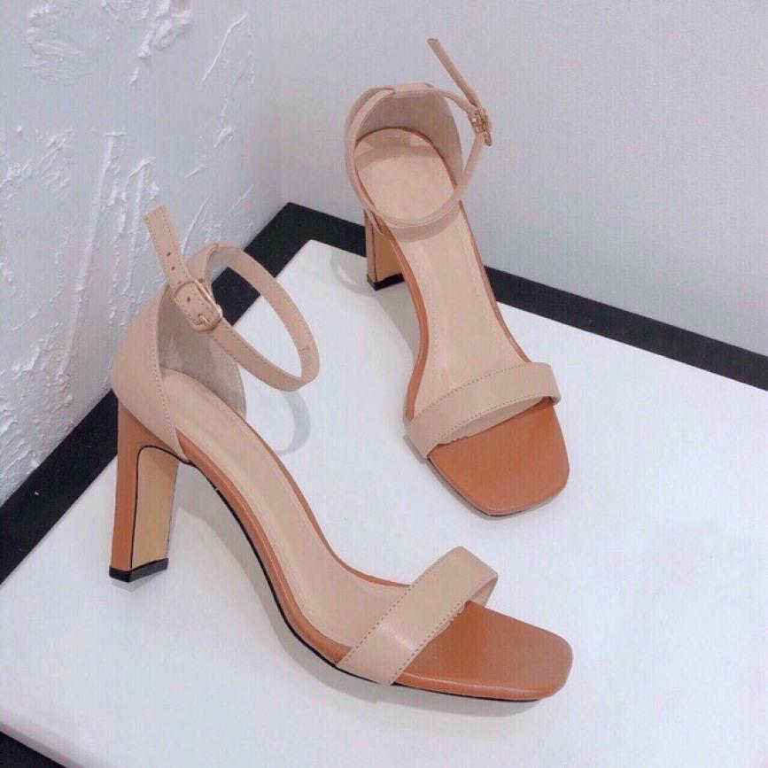 Giày sandal nữ gót 7p giá rẻ