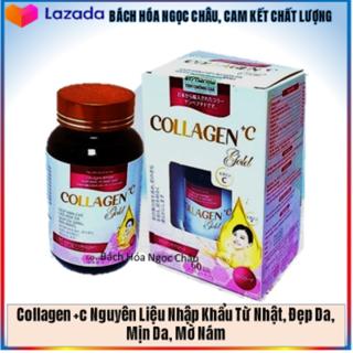 Thành Phần Collagen 120mg Nhập Khẩu Nhật Bản- Viên Uống Đẹp Da Collagen Gold (65NcTl Hồng) thumbnail