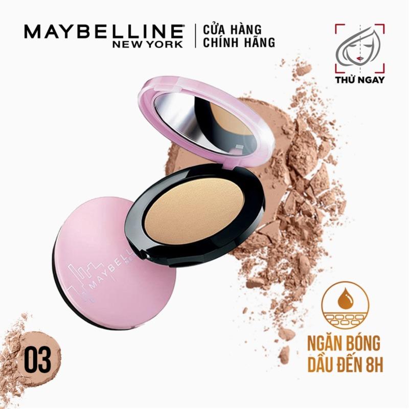 Phấn phủ mịn da kiềm dầu ngăn bóng nhờn Maybelline New York Clear Smooth All In One Pressed Powder 9g
