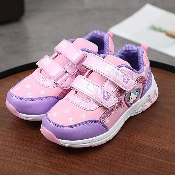 Giá bán giày thể thao bé gái size 31-36 kitty