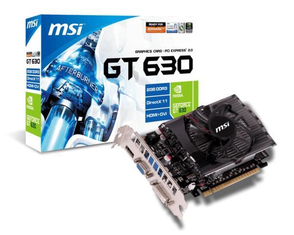 Bảng giá card đồ họa MSI GT 630 2gb DDR3 128bit zin chưa sửa chữa bảo hành 3 tháng lỗi 1 đổi 1 Phong Vũ