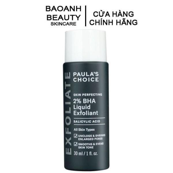 [HCM]Tẩy da chết hóa học SKIN PERFECTING 2% BHA Liquid Exfoliant 30ml 2016