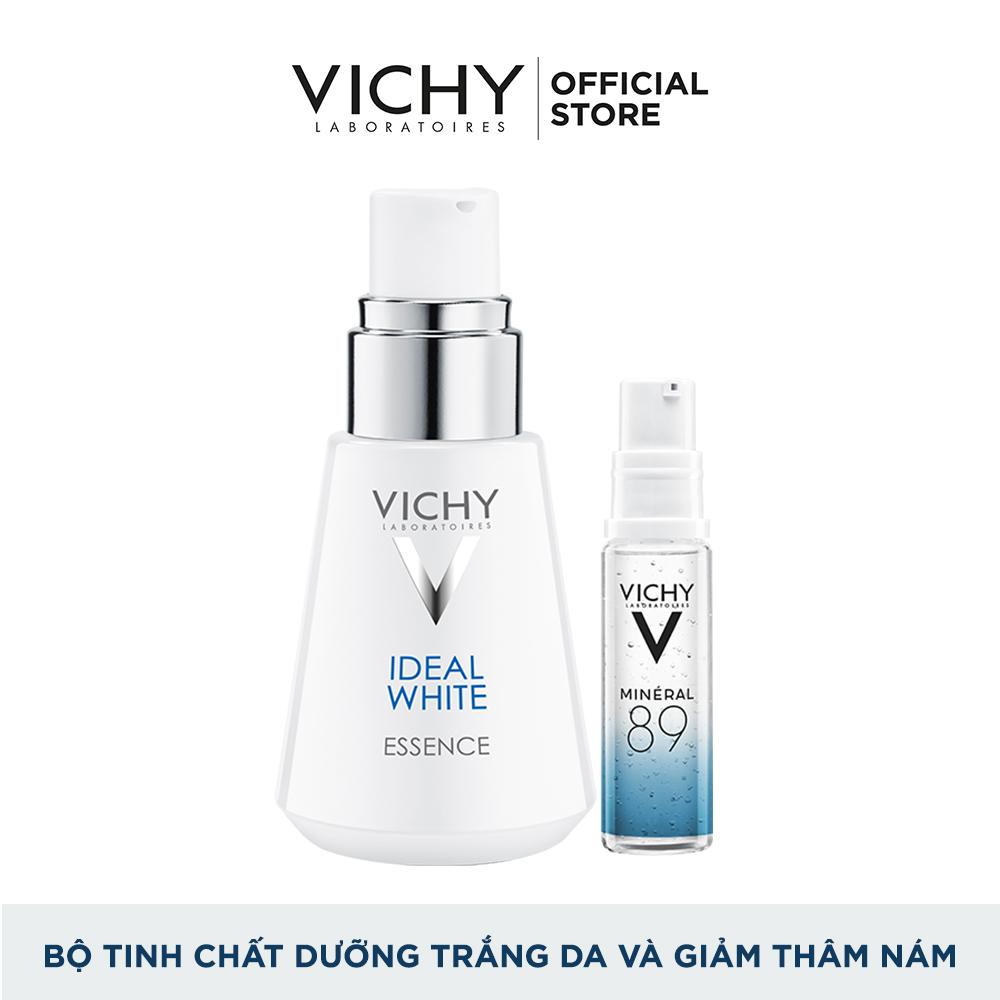 Tinh chất dưỡng trắng da và giảm thâm nám 7 tác dụng Vichy Ideal White Meta Whitening Essence 30ML Tặng Serum khoáng Mineral 89 10ML