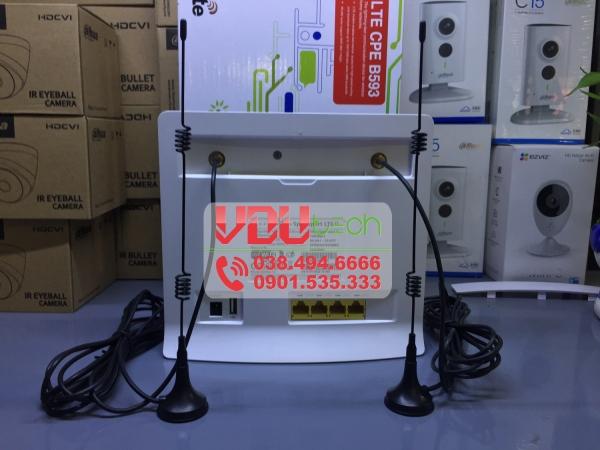 Bảng giá Anten cho bộ Phát Wifi Huawei B593/B310/E5172/E5186/B683/B68 - Chân Đế Nam Châm Phong Vũ