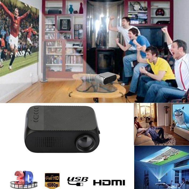 Máy chiếu Mini Smart Pro M1 1080p nhỏ gọn tiện dụng Xem phim, dã ngoại, giảng dạy
