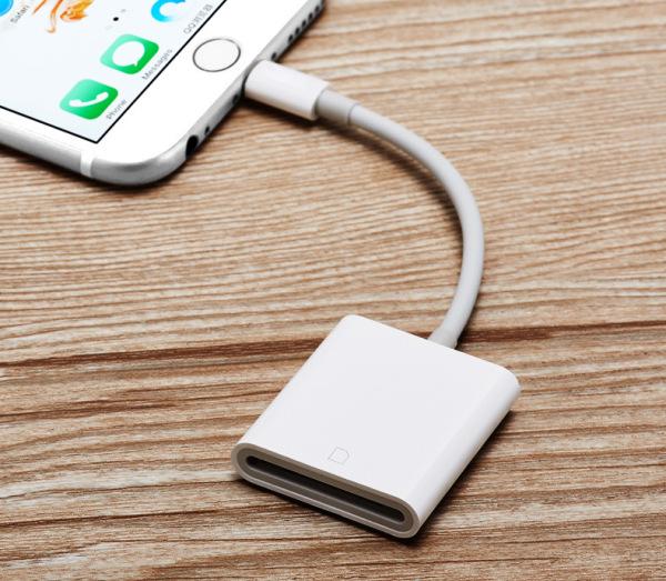 Bảng giá Đầu đọc thẻ nhớ SD dùng cho iPhone, iPad coppy ảnh, video từ máy ảnh, camera Phong Vũ