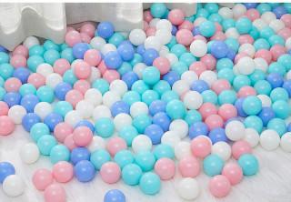 100 trái bóng nhựa Việt Nam đường kính 5.5cm BBT GLOBAL thumbnail