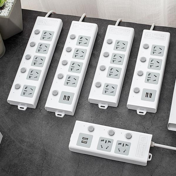Bảng giá [VOUCHER GIẢM GIÁ 100K] Ổ cắm điện đa năng thông minh 2 cổng USB 5v sạc nhanh, ổ chịu tải 2500W, tiết kiệm 30 kilowatt giờ dây nối 1,8m - Hàng chính hãng - Bảo hành 6 tháng OCD01