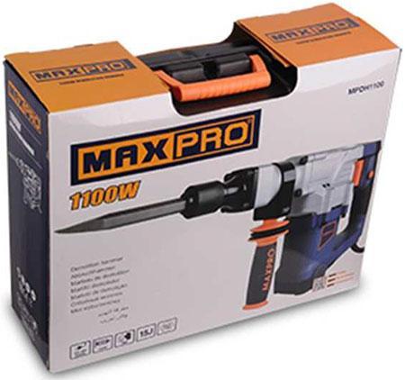 17mm Máy đục bê tông 1100W Maxpro MPDH1100