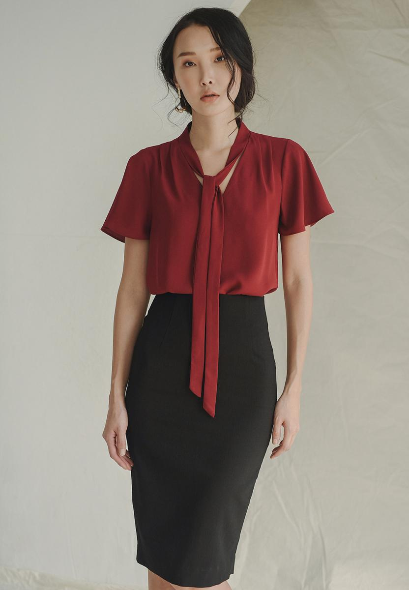 Deal tại Lazada cho Váy Bút Chì Form Dài Linen - Lilya 01SKI2355