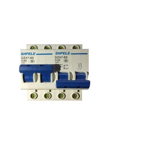 [HÀNG CHẤT LƯỢNG CAO]Công tắc chuyển đổi nguồn điện 2P 63A khóa liên động DZ47 SHPELE bảo vệ quá tải chuyển đổi 2 nguồn luân phiên, cầu dao đảo chiều, áp tô mát đảo chiều, bộ chuyển đổi nguồn điện 2p, át đảo chiều