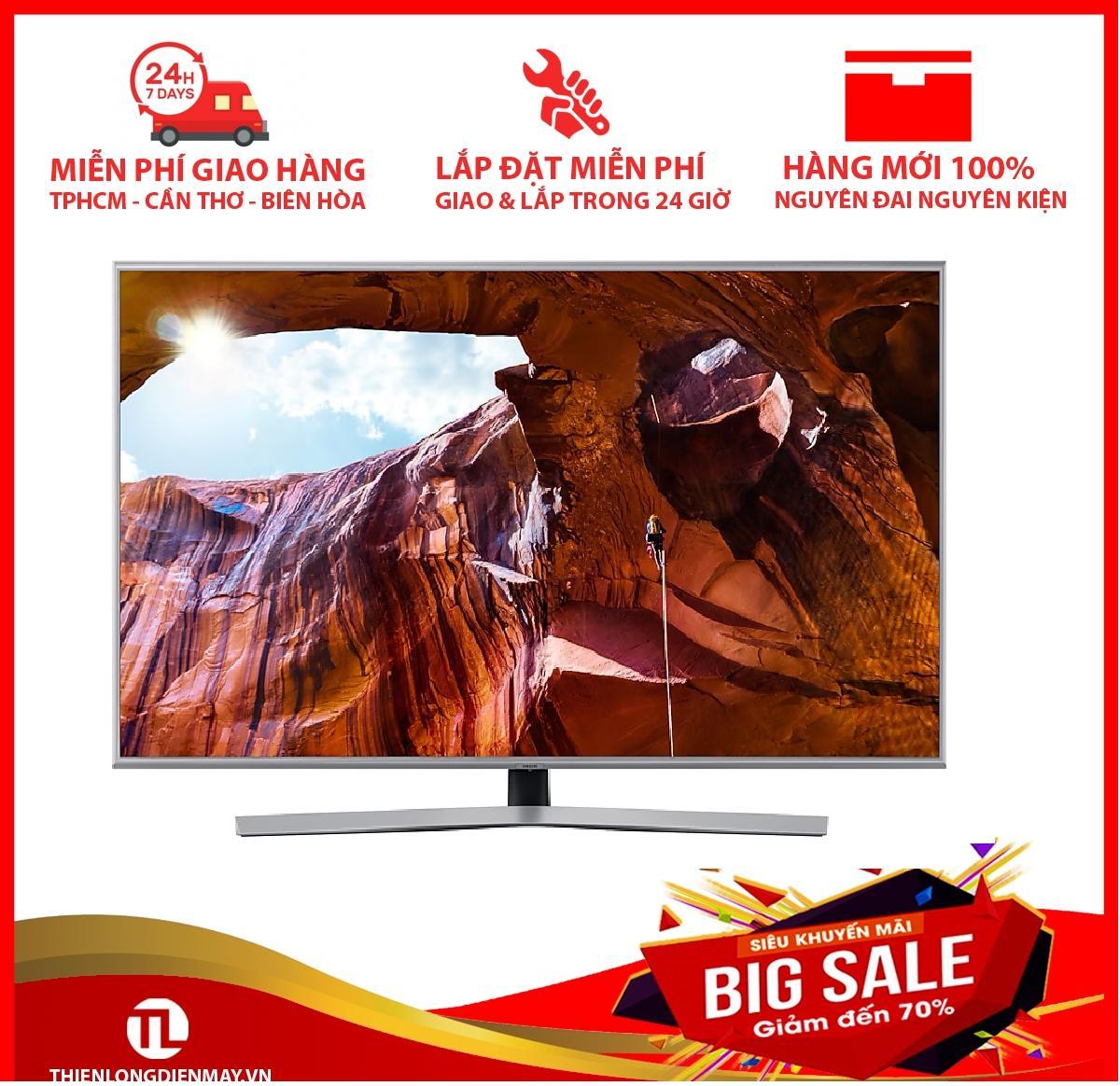 Bảng giá Smart Tivi Samsung 4K 43 inch UA43RU7400