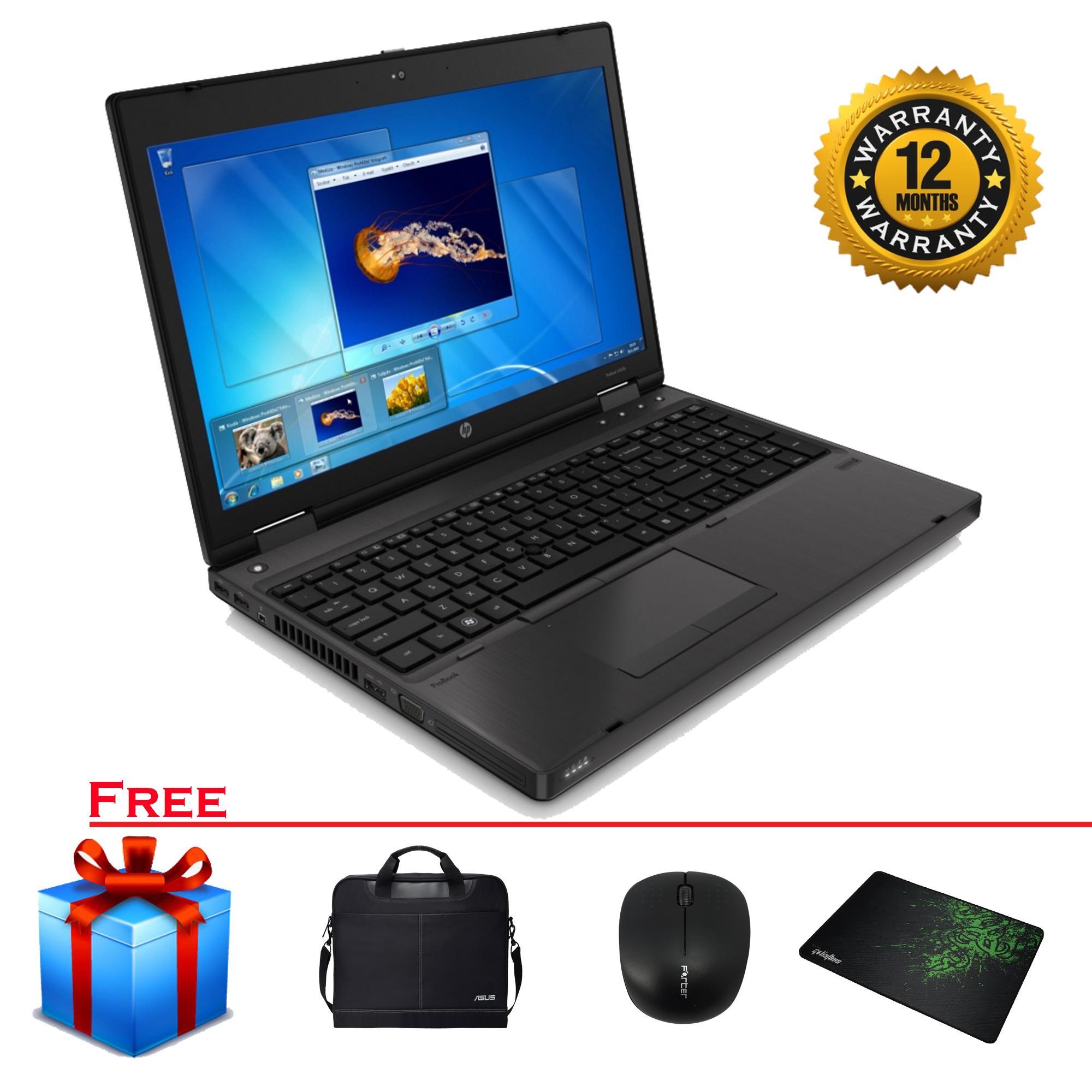 Laptop HP Probook 6560b Core I5-2320M/ Ram 4Gb/ SSD 240Gb Siêu Tốc/ 15.6 Inch HD Bàn Phím Số - Hàng Xách Tay Siêu Khuyến Mại